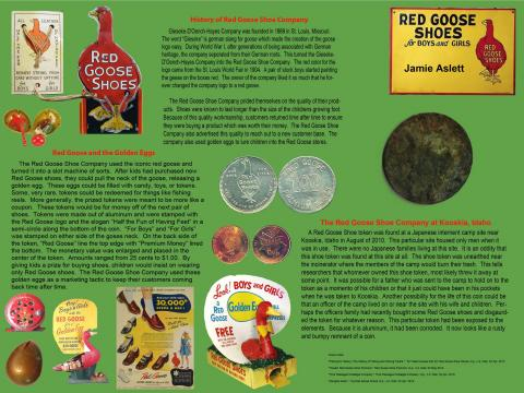 Jamie Aslett's Poster on the Red Goose Shoe Coupon